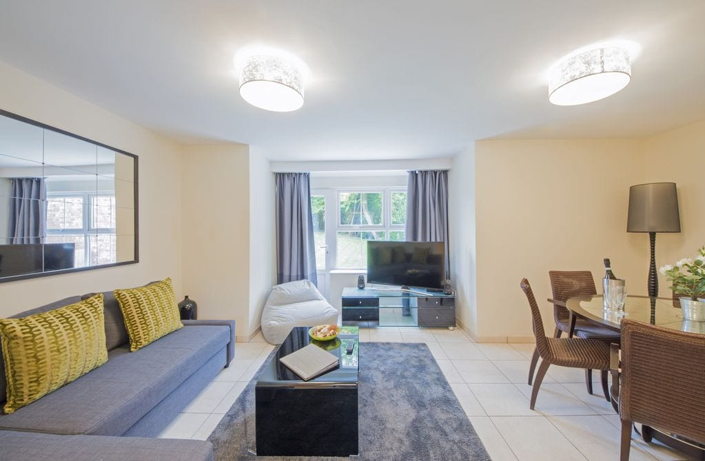 Family Stays at Cottrell Park Golf Resort - Luxury Interior of the Arabella Apartment