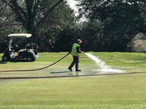 Cottrell Park staff working hard to maintain golf courses - Cardiff golf