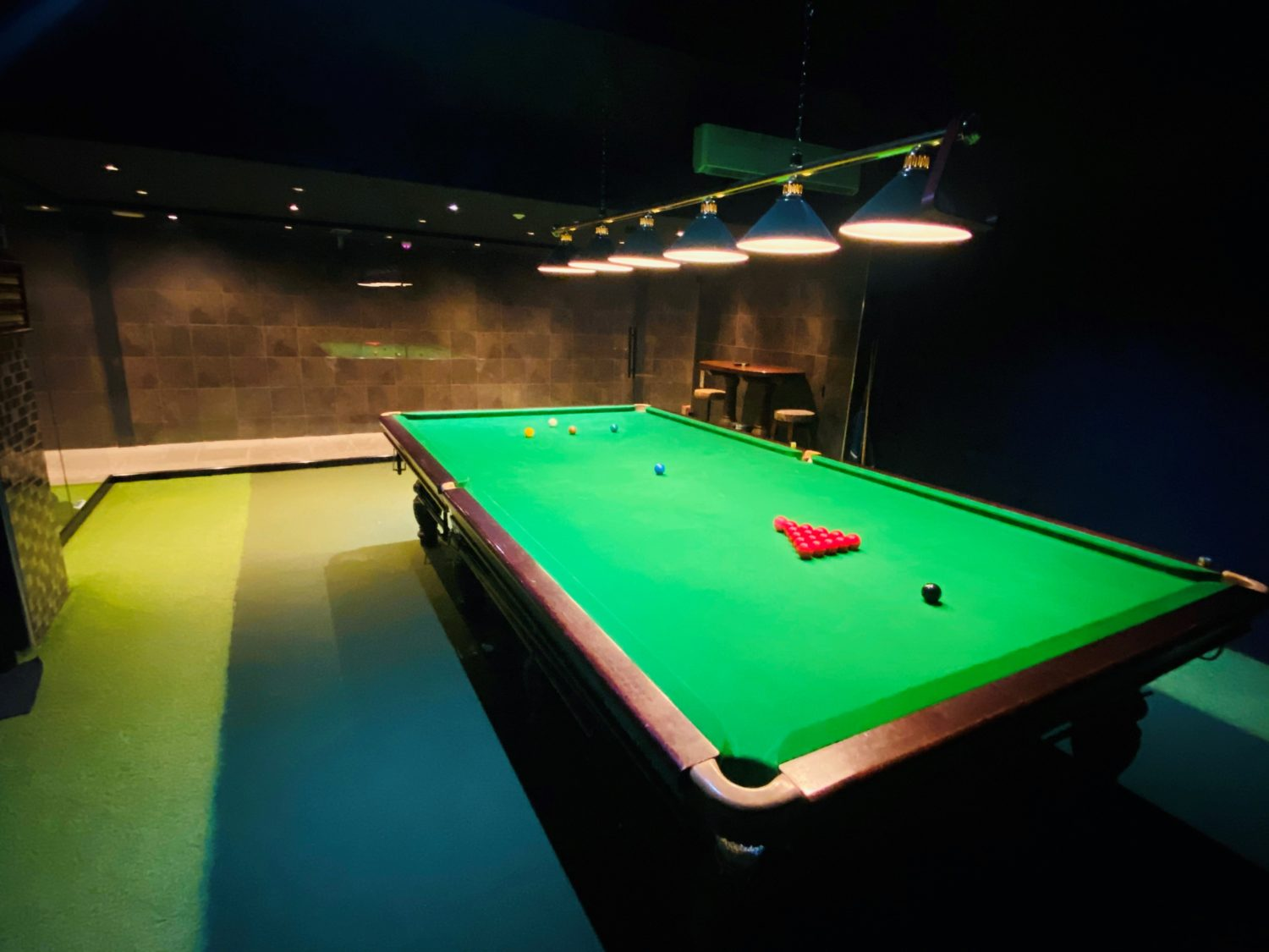 Snooker in South Wales, Pool tables in Cardiff - Brand New Snooker Room